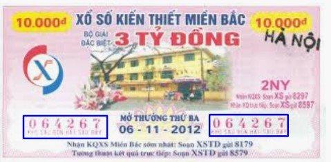 Vé số Hà Nội